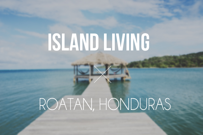 roatan honduras travel photography cover photo beach pier island