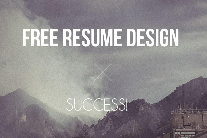 Free-resume-design-template