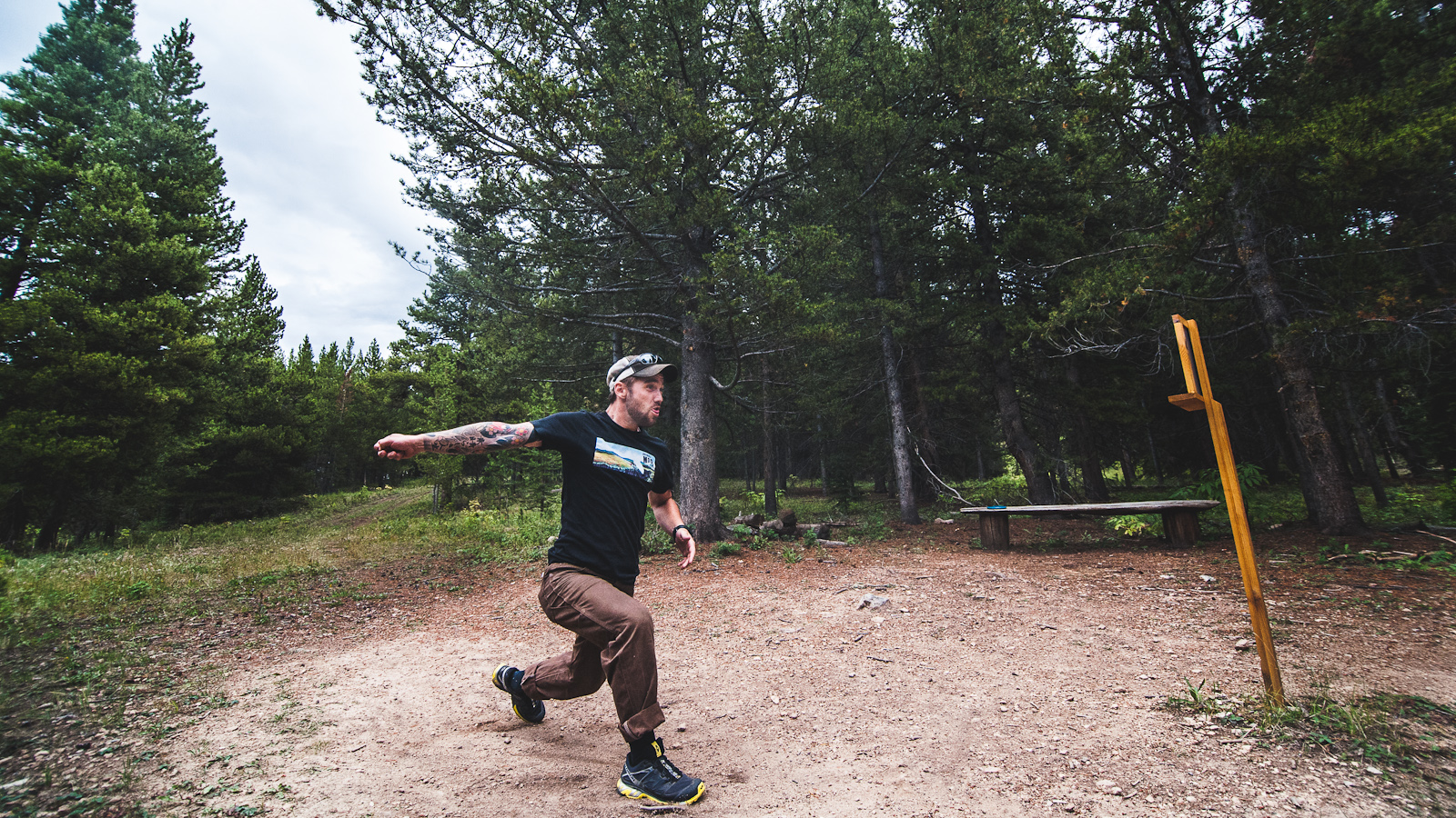 Frisbee golf frolf crested butte