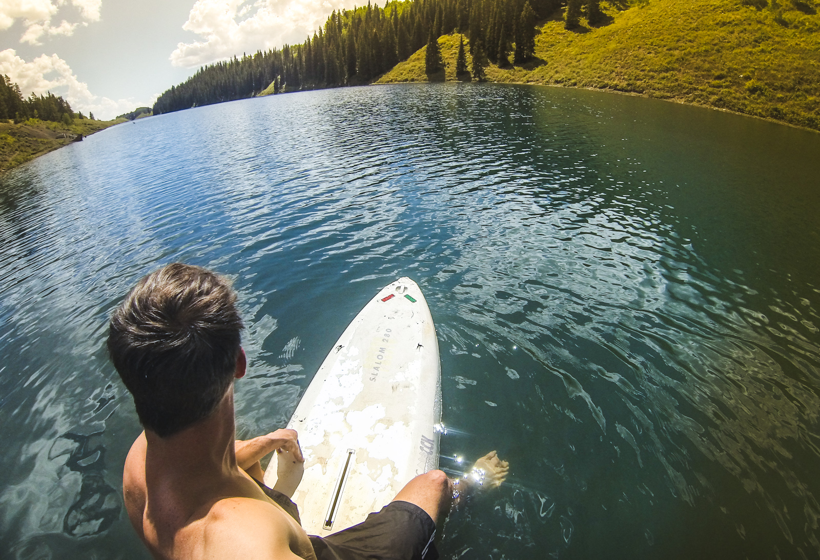 long lake in crested butte